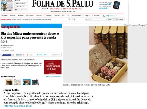 Presentes Dia das Mães - Folha de SP