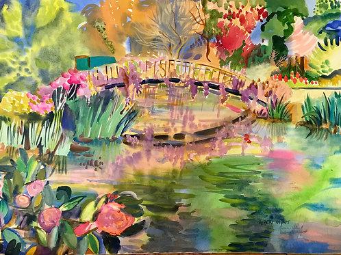 Bridge at Mynelle Gardens