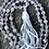 Thumbnail: Moonstone and blue lace agate Mala beads