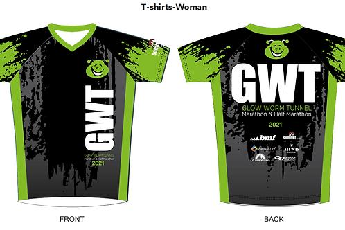 Female S/S Run T Shirt GWTM 2021