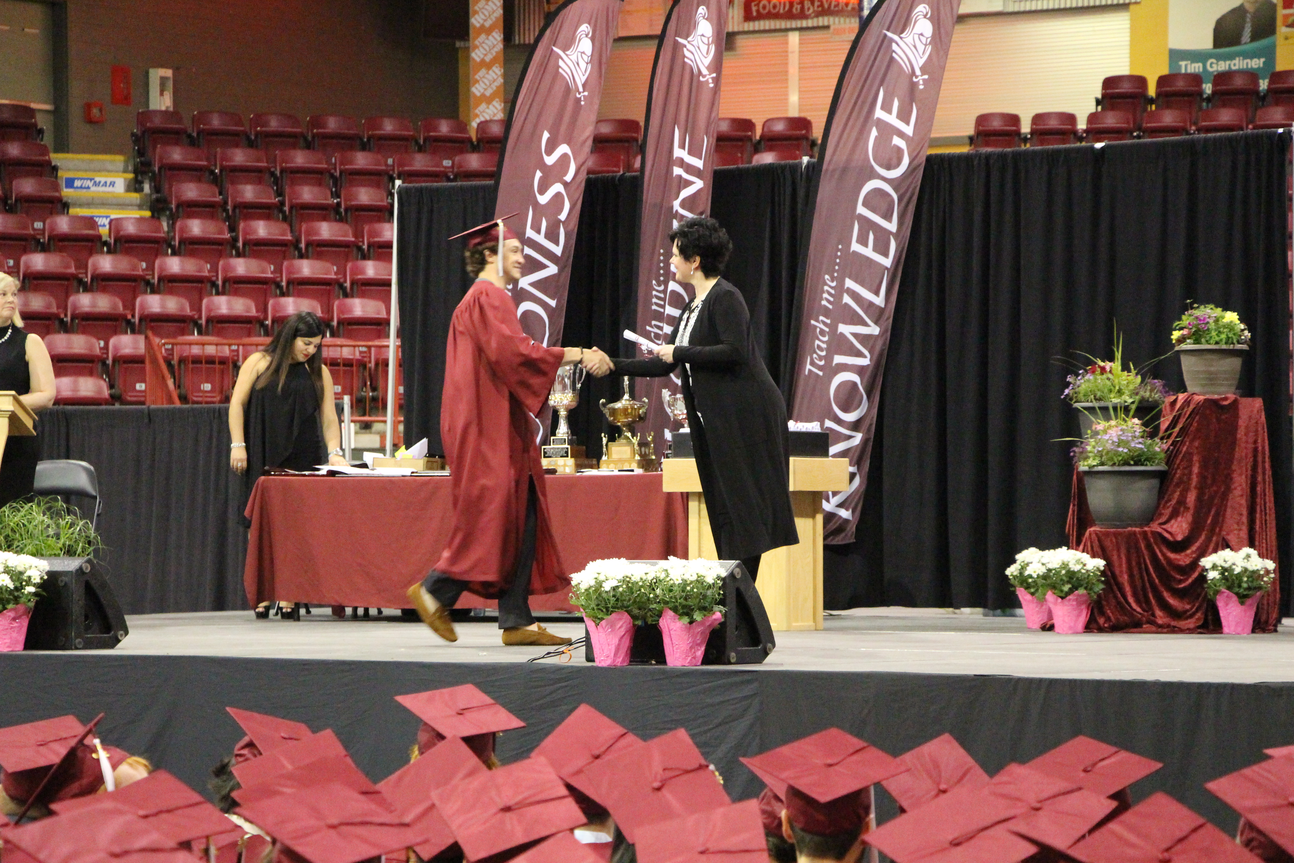 SMC student receives diploma