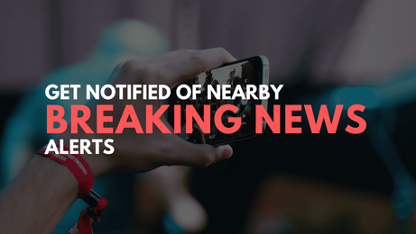 Get notified of nearby breaking news requests with iWitnessUpload