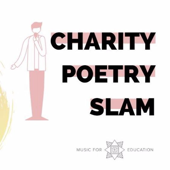 Charity Poetry Slam für Music for Education e.V.