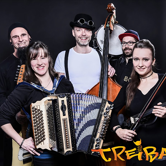 """Treibauf - """"Tradi-Mix aus Roots'n'Beatz"""", der von den ersten Tönen die Zuhörer mitreißt!"""