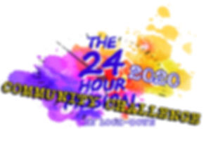 24 hour musical 2020 logo COMMUNITY CHAL