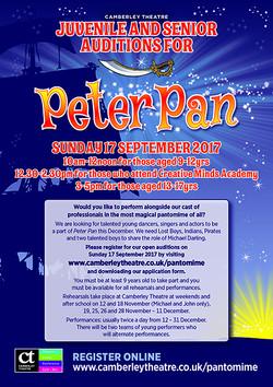 Peter Pan Audition info