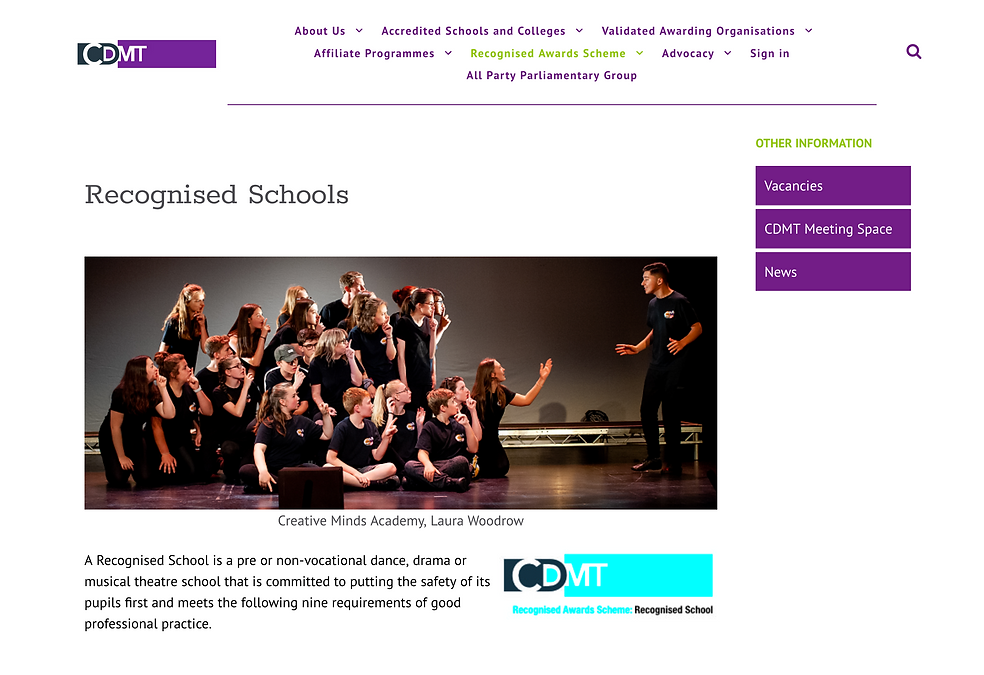 CMA CDMT recognised school.png