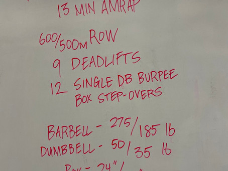 WOD for 210223