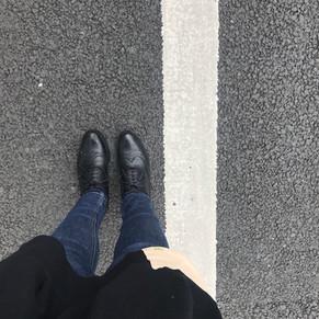 靴によるアシの変化