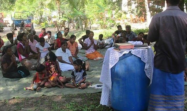 Violência contra os Cristãos no Sri Lanka
