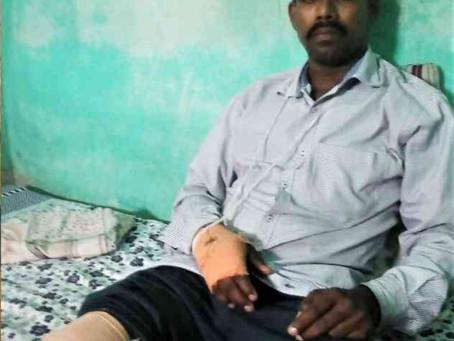 Pastor cristão é espancado e trancado numa sala sem água nem comida durante dias na Índia