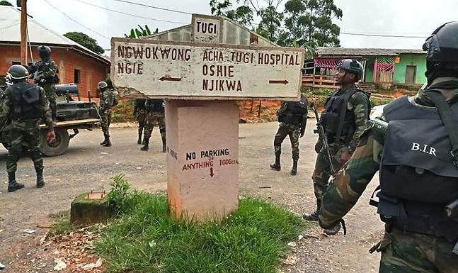 Exército toma Igrejas para usá-las como bases Militares em Camarões