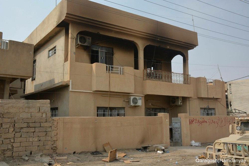 Casas de Cristãos destruídas no Iraque