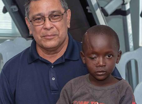 Duas Crianças Deixadas para morrer na Nigéria