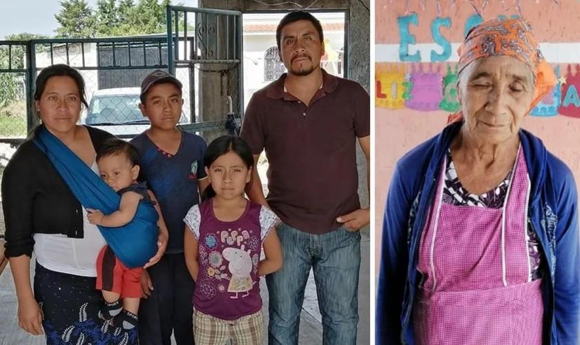 Cristãos protestantes privados de serviços básicos, em El Encanto. (Foto: Reprodução / Facebook)