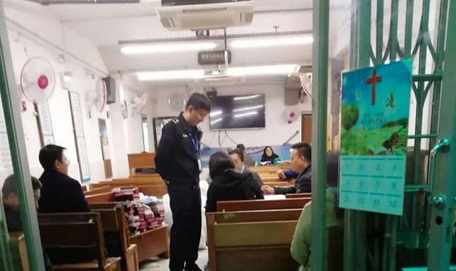 China Fecha Principal Igreja Subterrânea do País