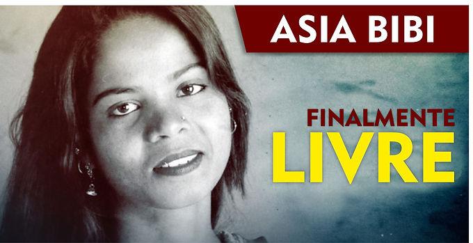Asia Bibi está finalmente Livre para sair do Paquistão