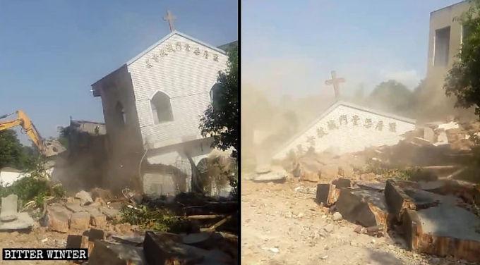 Mais de 400 locais de culto fechados ou destruídos na China