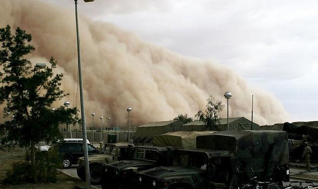 Tempestade de Areia Livra Cristãos de Ataque Terrorista no Médio Oriente
