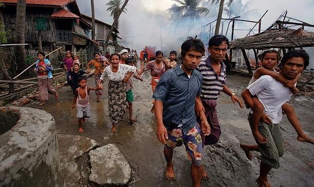 Militares lançam ataques brutais contra Cristãos em Myanmar