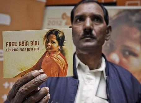 Asia Bibi será julgada até julho diz Juiz do Supremo Tribunal do Paquistão