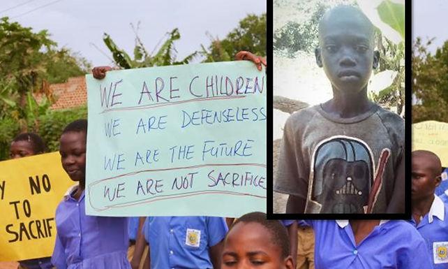 Menino cristão foi sacrificado em ritual de bruxaria na Uganda