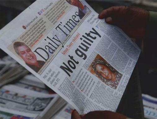 Asia Bibi é libertada secretamente da prisão, mas ainda corre riscos