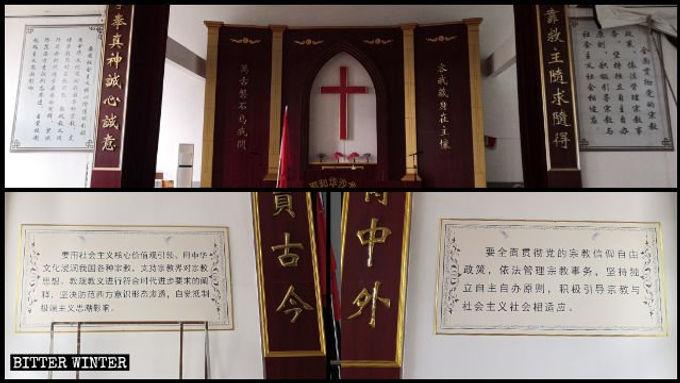A China obriga as igrejas a substituírem os Dez Mandamentos por citações de Xi Jinping