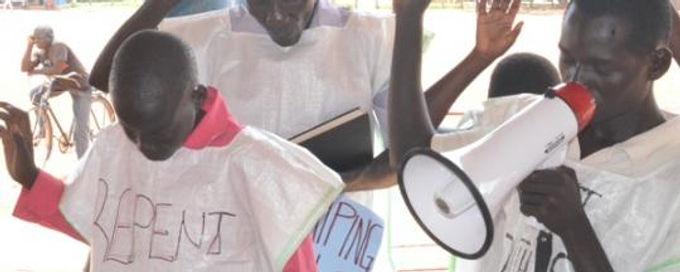 Sudão do Sul: Cristãos usam Panos de Saco para Pedir Perdão a Deus