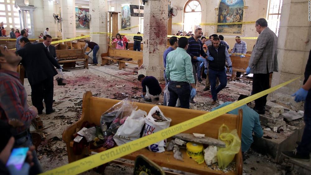 Ataque a Igreja no Egipto