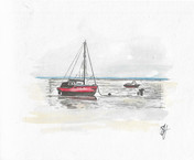 Boat in Old Leigh 1