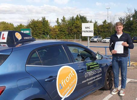 A huge congratulations to Sol for a first time pass