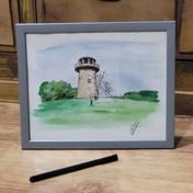 Staunton Harold Reservoir Windmill