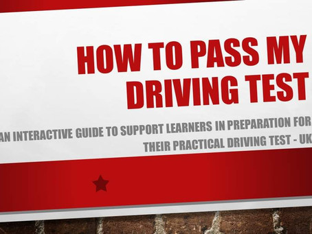 How to pass my driving test