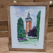 Carillion Tower Watercolour