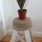 Concrete Plant Stand