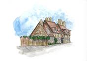 Traditional British Village Architecture 1