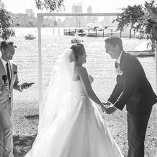 Matilda Bay wedding Perth Marriage Celebrant