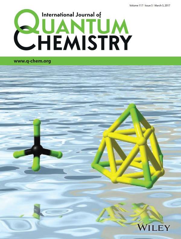 Int. J. Quant. Chem. 2017, 117, e25331.