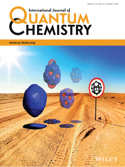 Int. J. Quant. Chem. 2018, 113, e25645.