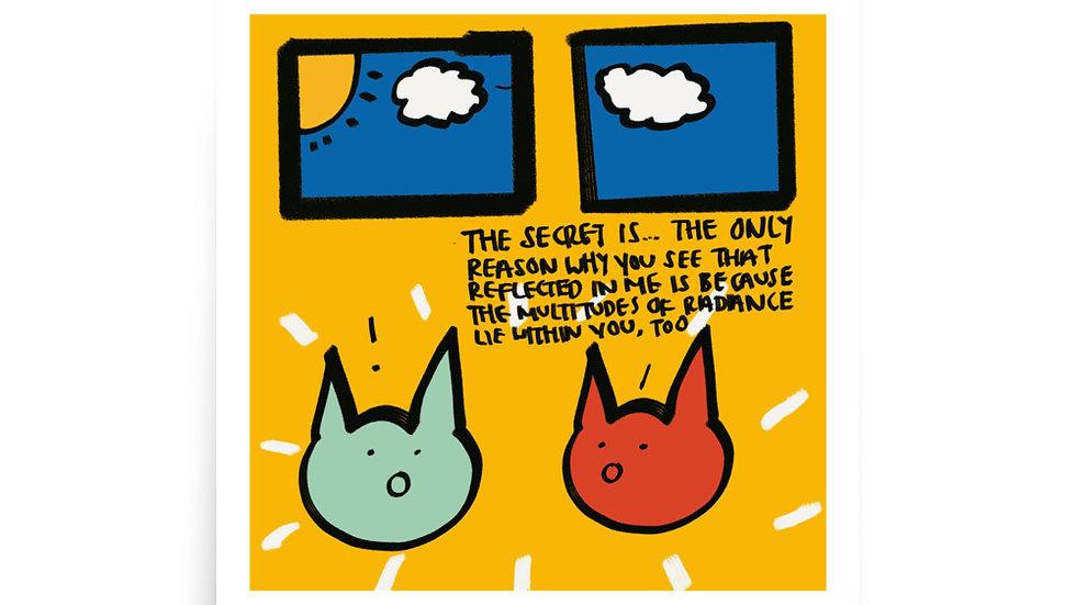 the secret print