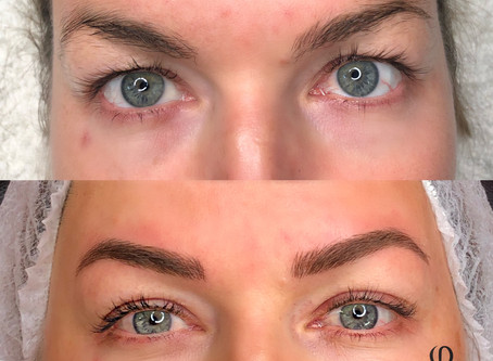 Waking up with perfect brows!