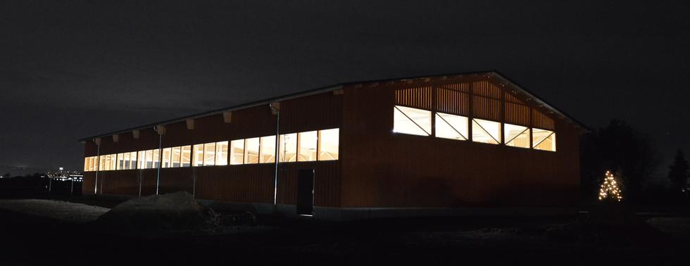 LED Reithallenbeleuchtung