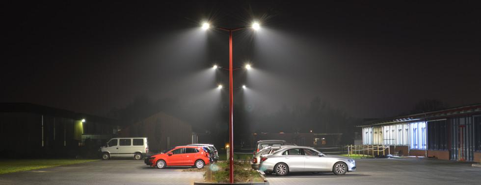 LED Parkplatzbeleuchtung