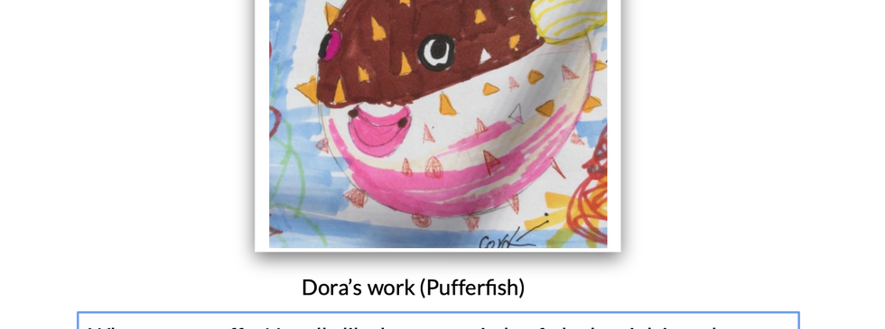 Dora's pufferfish with feedback.png