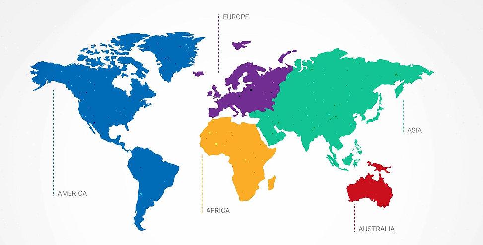 5 CONTINENT WORLD MAP SET 71348-HQ-01.jp