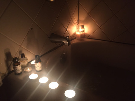 Bath for Self-Regulation *With Breath and Touch Integration*