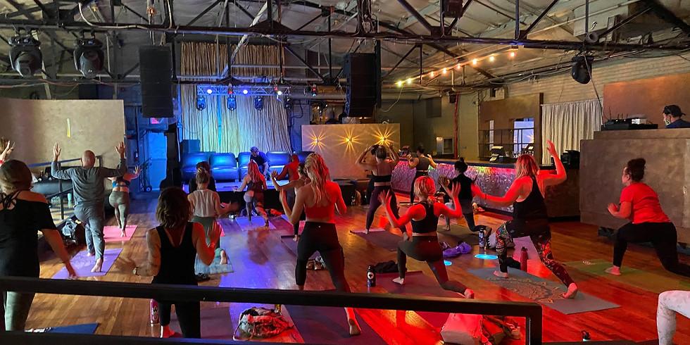 Yoga, Drinks, Dancing!