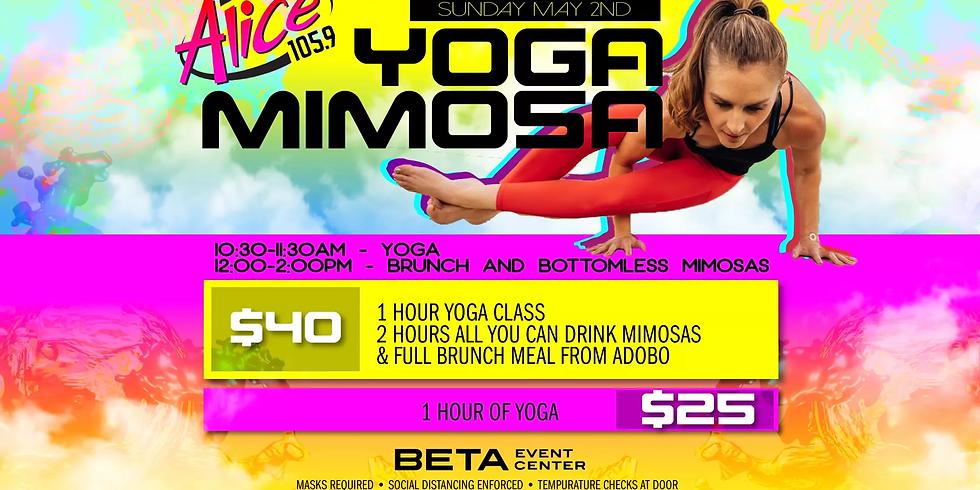Yoga & Mimosas - SUN 5/2