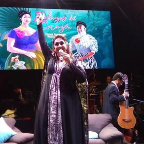 Regina Orozco y Omara Portundo en La Nao 2019